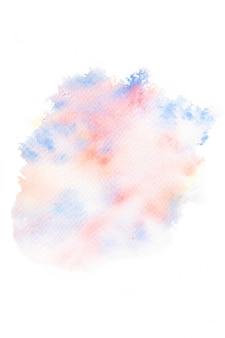 Abstracte aquarel splash achtergrond.