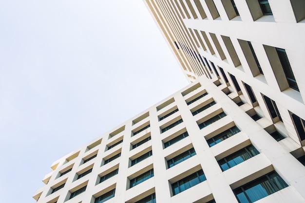 Abstracte architectuur en gebouw