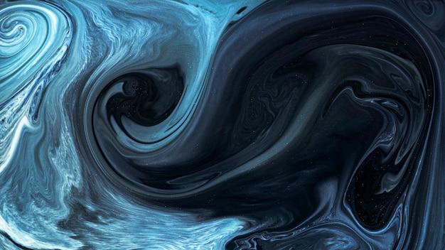 Abstracte blauwe aquarel patroon achtergrond