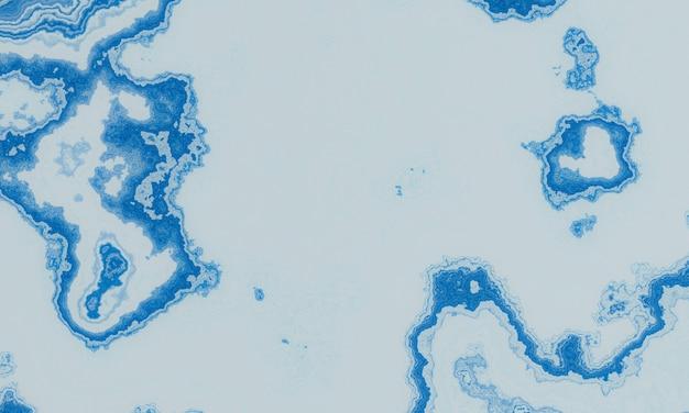 Abstracte blauwe en witte gemarmerde textuurachtergrond