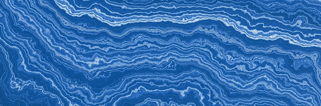 Abstracte blauwe gemarmerde textuurachtergrond.