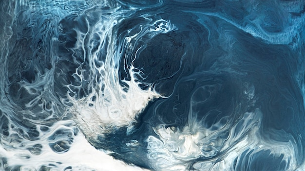 Abstracte blauwe grunge aquarel patroon achtergrond afbeelding