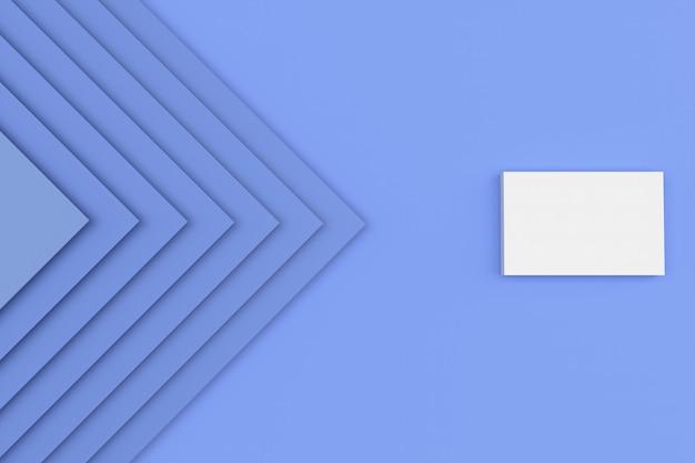 Abstracte blauwe het document van het stapelkarton textuurachtergrond