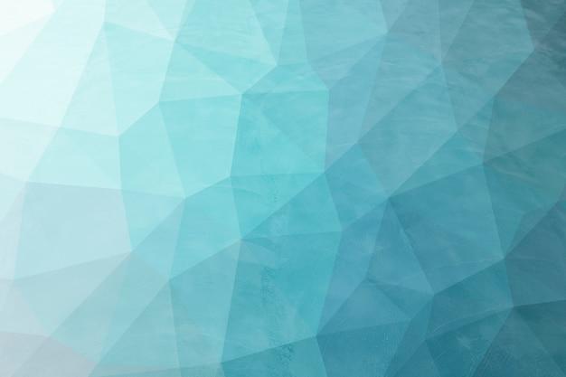 Abstracte blauwe laag poly achtergrondstructuur. creatieve veelhoekige achtergrond illustratie