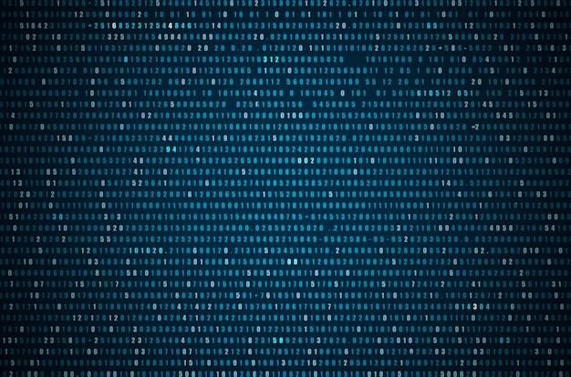 Abstracte blauwe technologie achtergrond
