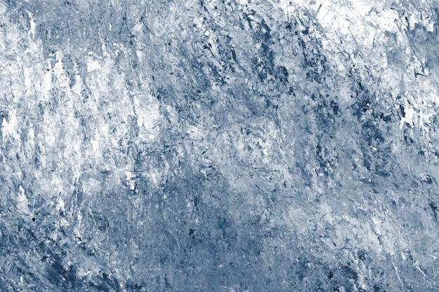 Abstracte blauwe verf getextureerde achtergrond