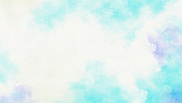Abstracte blauwe waterverfachtergrond