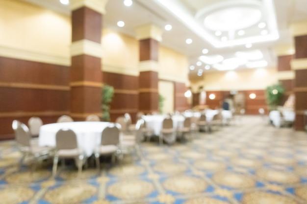 Abstracte blur bruiloftszaal