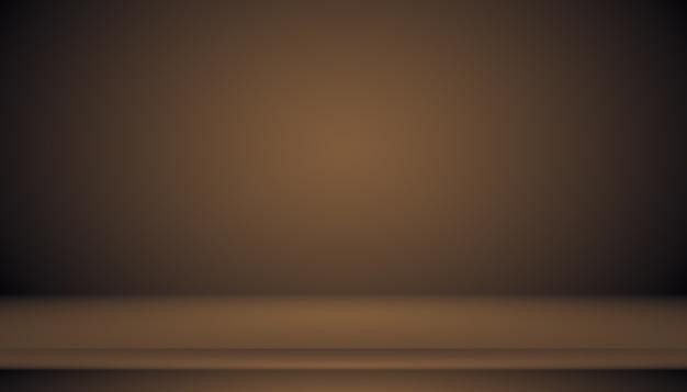Abstracte bruine gradiënt goed gebruikt als achtergrond voor productweergave.