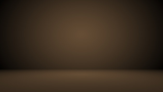 Abstracte bruine gradiënt goed gebruikt als achtergrond voor productweergave