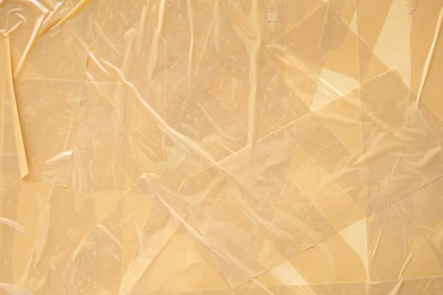 Abstracte bruine plakbandachtergrond