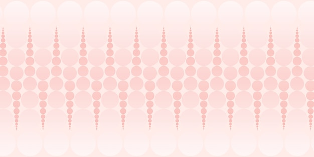 Abstracte cirkel en polka dot patroon pastel kleur 3d illustratie