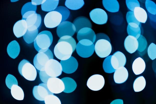 Abstracte cirkel neonlichtenachtergrond