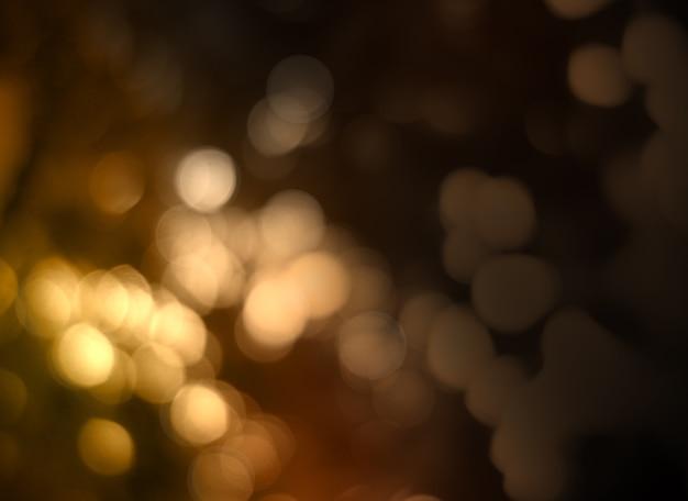 Abstracte cirkelbokehachtergrond van kerstmislicht.
