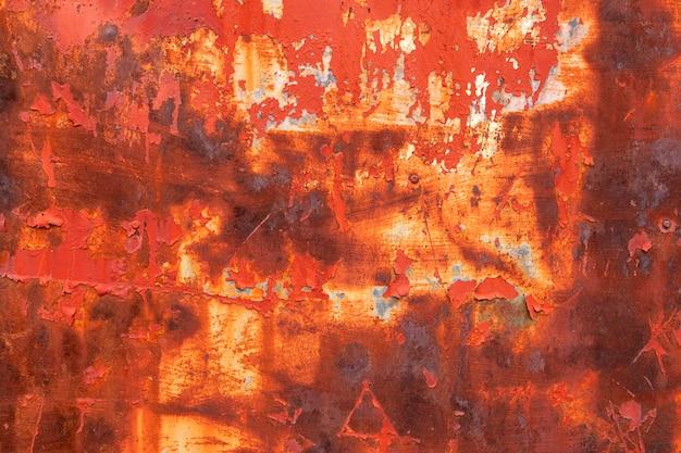Abstracte close-up van metalen behang