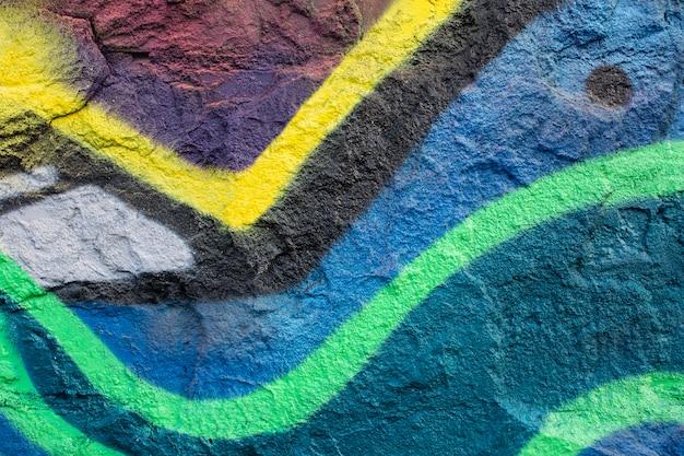 Abstracte creatieve muurschildering graffiti achtergrond