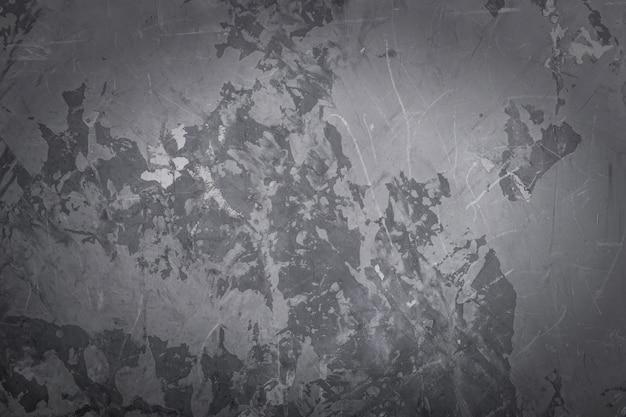 Abstracte de textuurachtergrond van de grunge grijze muur, vignet.
