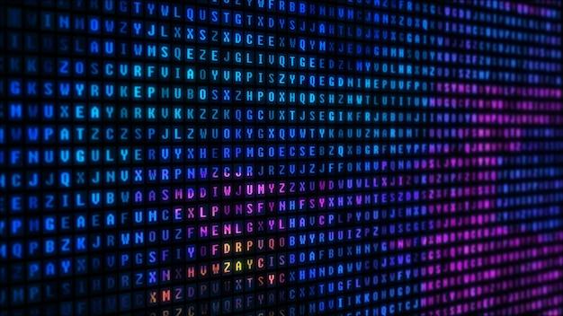 Abstracte digitale binaire gegevensachtergrond