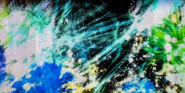 Abstracte digitale grafische met rommelige lijn.