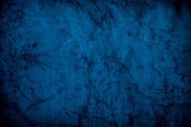 Abstracte donker blauwe oceaan betonnen muur textuur achtergrond. gepolijst betonnen vloer grunge oppervlak.