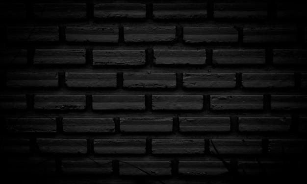 Abstracte donkere bakstenen muur textuur achtergrondpatroon, lege bakstenen muur oppervlaktetextuur.