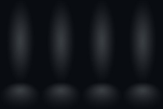 Abstracte donkergrijze sjabloon lege ruimte donkere gradiëntmuur. d.