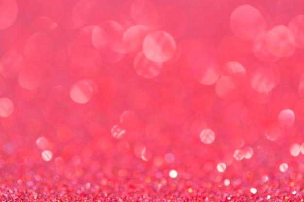 Abstracte elegante roze purple schittert uitstekende fonkeling met bokeh defocused voor partijuitnodiging