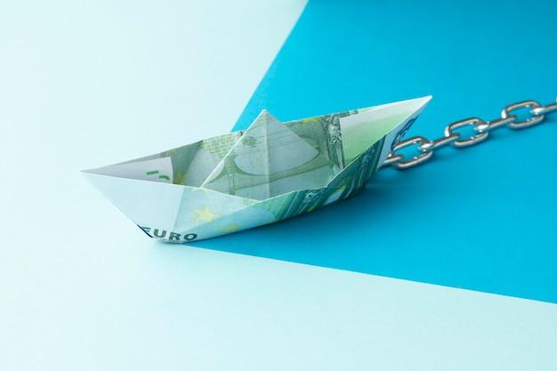 Abstracte financiële vrijheid stilleven arrangement