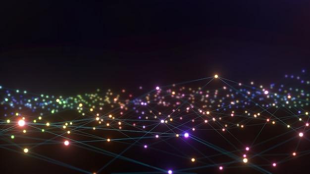 Abstracte foto achtergrond contact communicatie netwerkgegevens groep verbinding