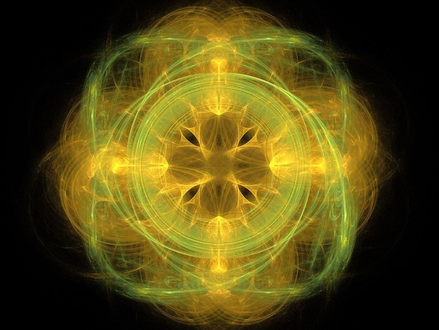 Abstracte fractal vrij