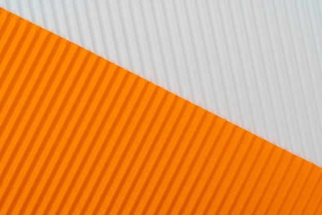 Abstracte gegolfd papier achtergrond. ruwe decoratieve papier textuur.