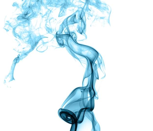 Abstracte gekleurde rook op een lichte achtergrond