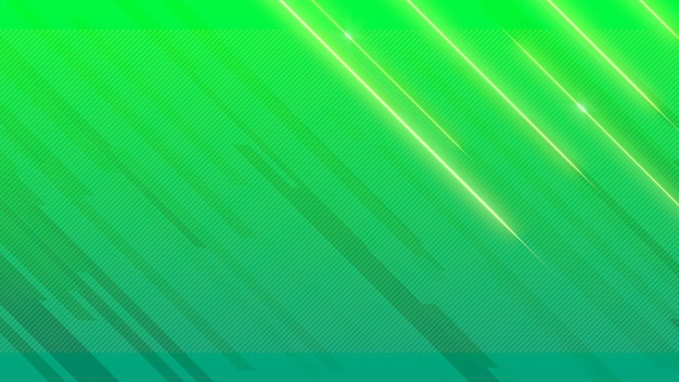 Abstracte geometrische blauwe en groene glanslijnen, retro achtergrond. elegante en luxe 3d-illustratiestijl voor zakelijke en zakelijke sjabloon