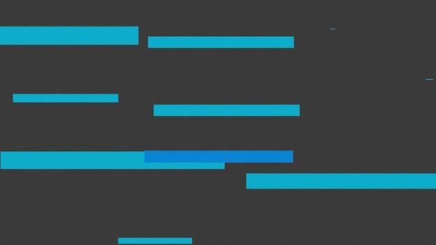 Abstracte geometrische blauwe lijnen, retro achtergrond. elegante en luxe 3d-illustratiestijl voor zakelijke en zakelijke sjabloon