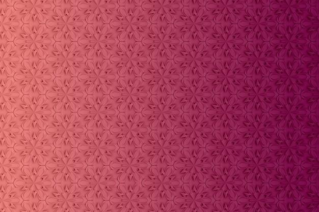 Abstracte geometrische gekleurde achtergrond op basis van zeshoekige raster
