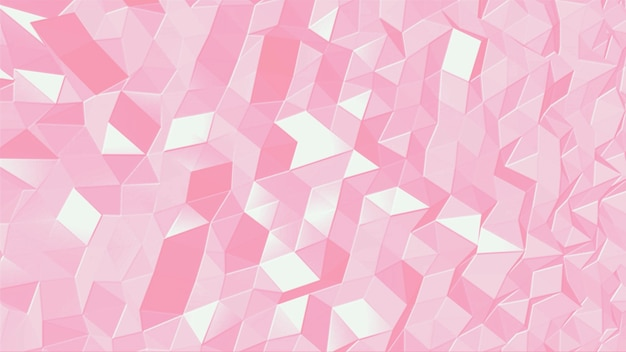 Abstracte geometrische roze kleine zeshoek op moderne achtergrond. elegante en luxe 3d-illustratiestijl voor zakelijke en zakelijke sjabloon