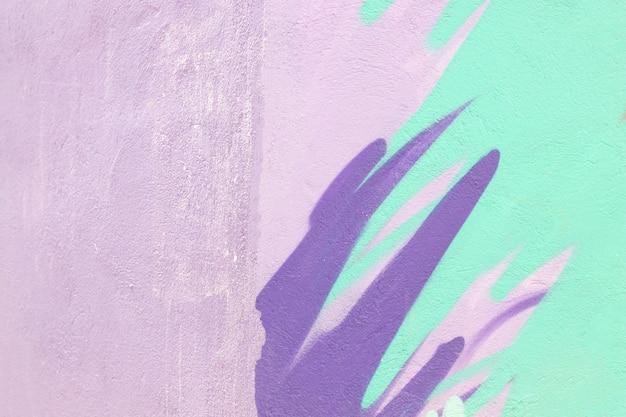 Abstracte geschilderde muurachtergrond