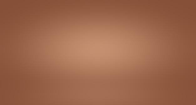 Abstracte gladde bruine muur achtergrond lay-out ontwerpstudiokamerwebsjabloonbedrijfsrapport met vloeiende... Gratis Foto