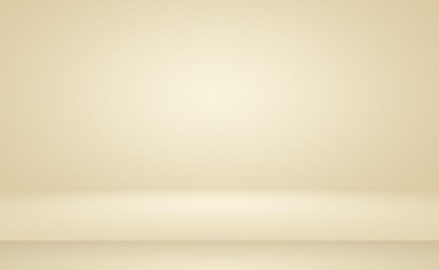 Abstracte gladde bruine muur achtergrond lay-out ontwerpstudiokamerwebsjabloonbedrijfsrapport met vloeiende...