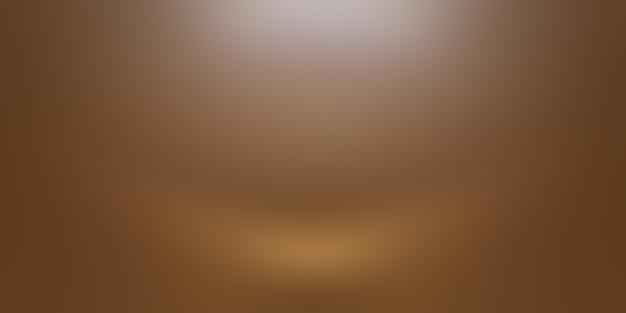 Abstracte gladde bruine muur achtergrond lay-outontwerp, studio, kamer, websjabloon, bedrijfsrapport met vloeiende cirkel kleur voor de kleurovergang. Gratis Foto