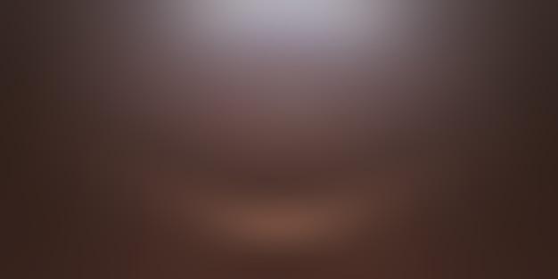 Abstracte gladde bruine muur achtergrond lay-outontwerp, studio, kamer, websjabloon, bedrijfsrapport met vloeiende cirkel kleur voor de kleurovergang