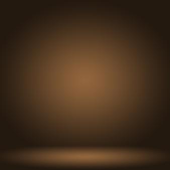 Abstracte gladde bruine muur achtergrond lay-outontwerp,, websjabloon, bedrijfsrapport met vloeiende cirkel kleur voor de kleurovergang.