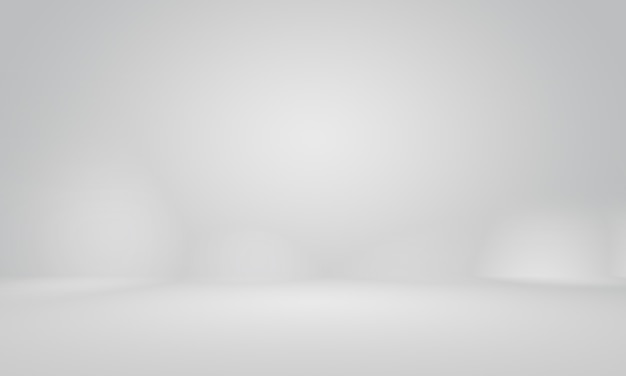 Abstracte gladde lege grijze studio goed gebruiken als achtergrond, bedrijfsrapport, digitaal, websitesjabloon, achtergrond.