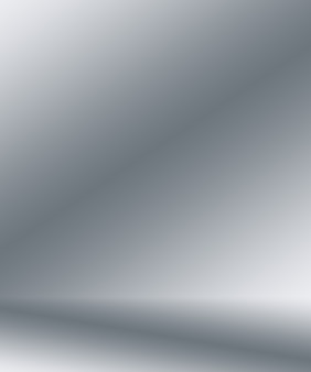Abstracte gladde lege grijze studio goed te gebruiken als achtergrond bedrijfsrapport digitale website sjabloonachtergrond