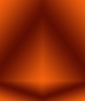 Abstracte gladde oranje achtergrond lay-outontwerp, studio, kamer, websjabloon, bedrijfsrapport met vloeiende cirkel kleur voor de kleurovergang.