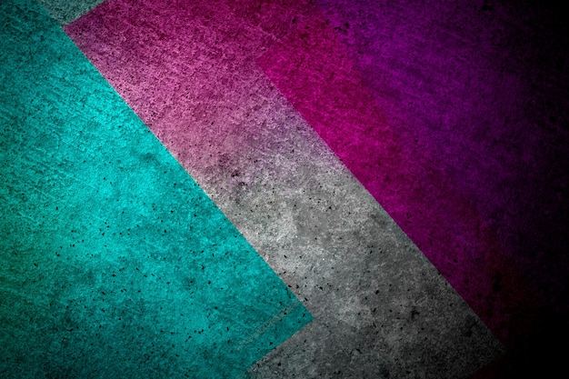 Abstracte glitch achtergrond, kleur dubbele belichting.