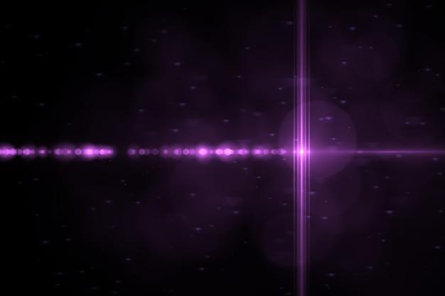 Abstracte gloeiende digitale lens flare achtergrond