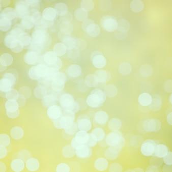 Abstracte gouden bokehachtergrond - uitstekende filter