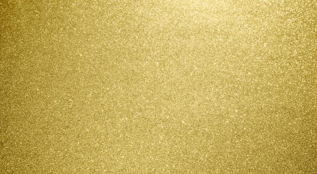 Abstracte gouden glitter sparkle bokeh lichte achtergrond