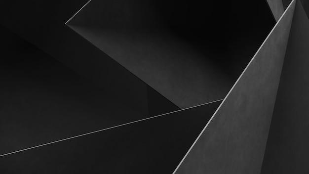 Abstracte grijze geometrische vormen van driehoeken